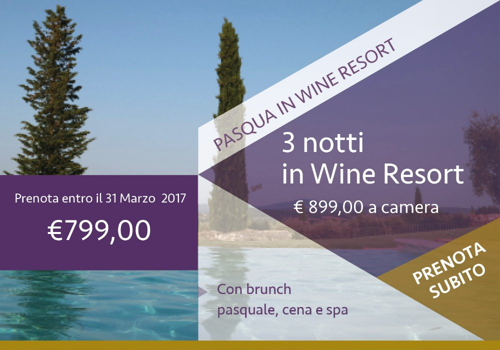 Pasqua in wine resort