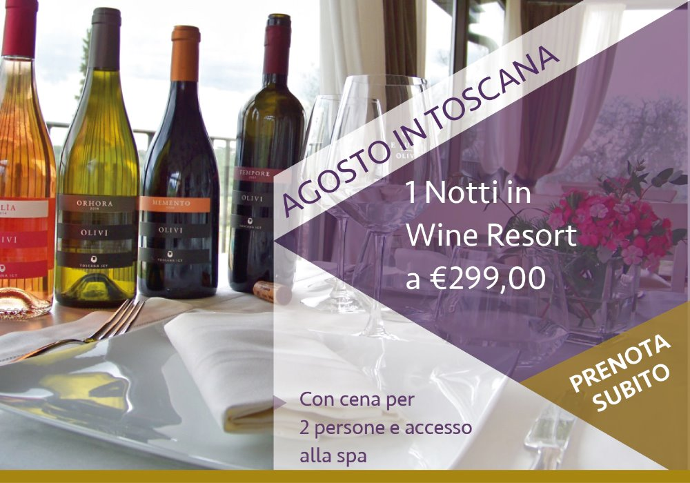 Agosto in Wine Resort