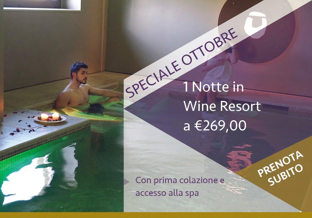 1 Notte in Toscana con Cena Offerta Speciale Ottobre