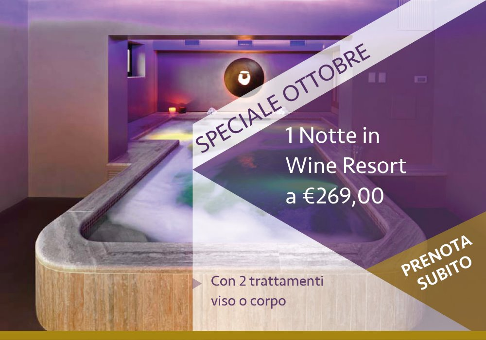 Package with Wellness Treatments 1 Night in Tuscany
