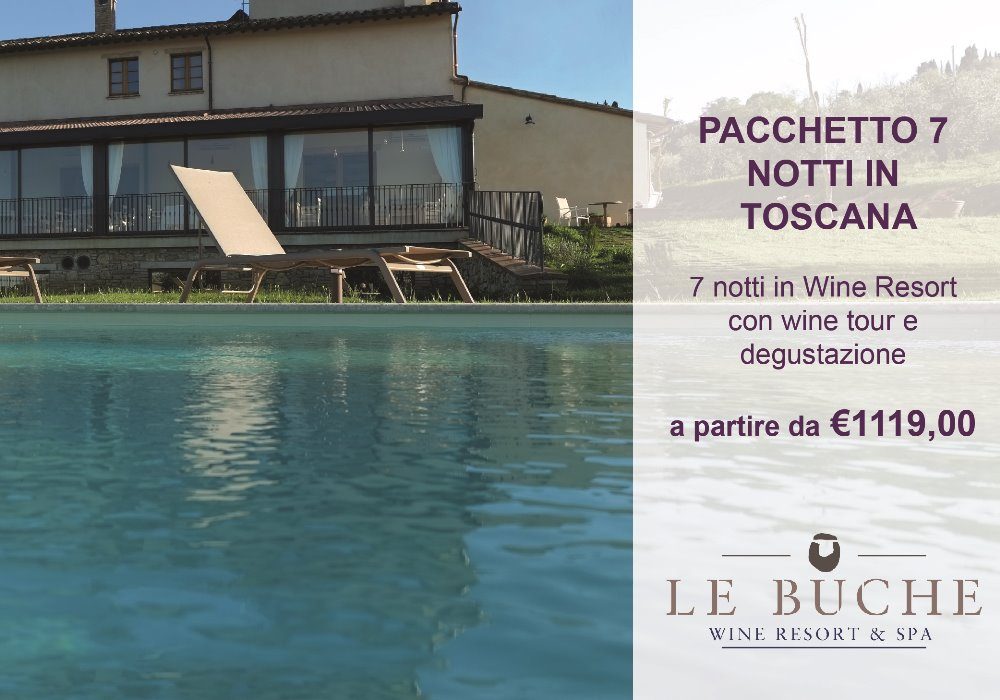 7 nights package  with Wine tasting and Dinner