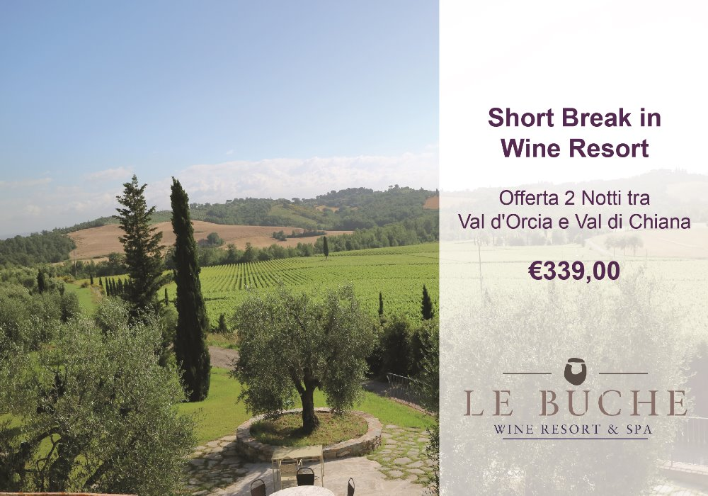 Short Break in Wine Resort